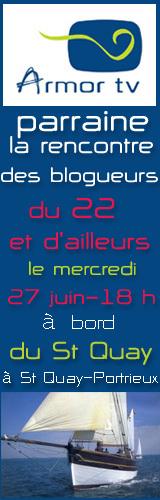 Rencontre des blogueurs du 22 et d'ailleurs à bord du St Quay